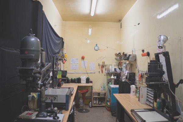 Laboratoire argentique de Dauphine